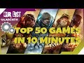 940MX GAMING | TOP 50 GAMES ON 2016 - 2018 IN 10 MINUTES | GTA V REDUX, The Crew, Hitman #1