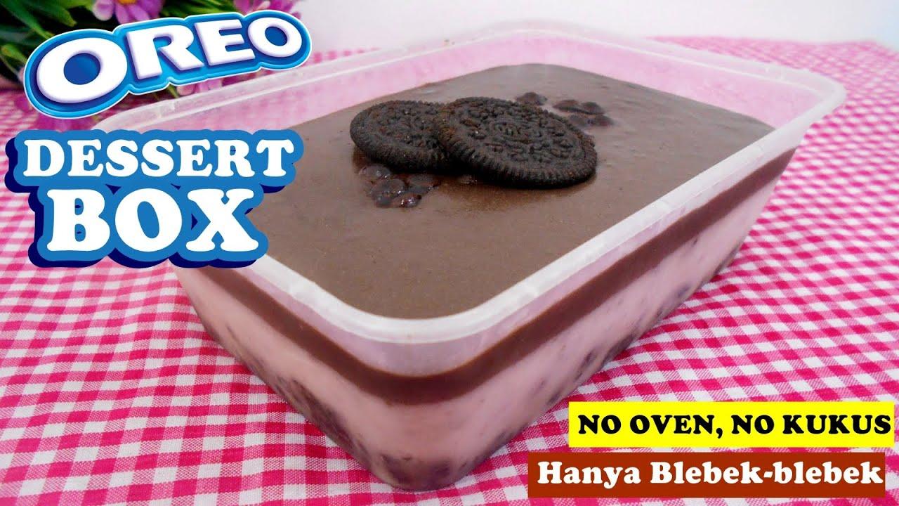 resep dessert oreo tiktok RESEP OREO DESSERT BOX VERSI TIK-TOK  MUDAH DAN LUMER