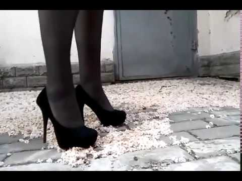 Chestnut flowers under the heels