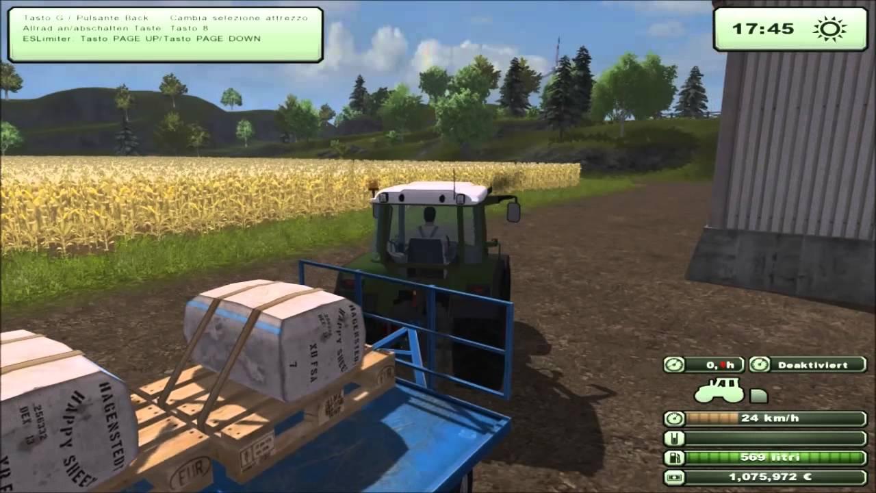 Farming simulator 2013- Trasporto lana-Fendt 309c-Deutz-fahr Agrovector.mp4