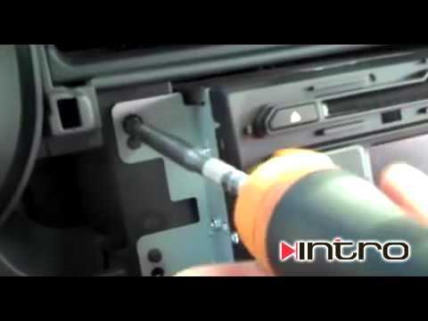 как снять магнитолу киа венга