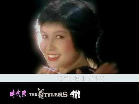 记得你说过 by 张小英 Zhang Xiao Ying & The Stylers