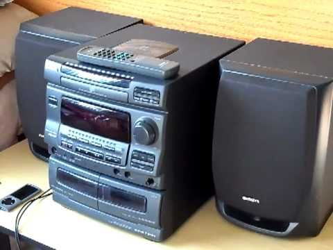 Aiwa NSX-V10 Compact Stereo System Review/Look - YouTube