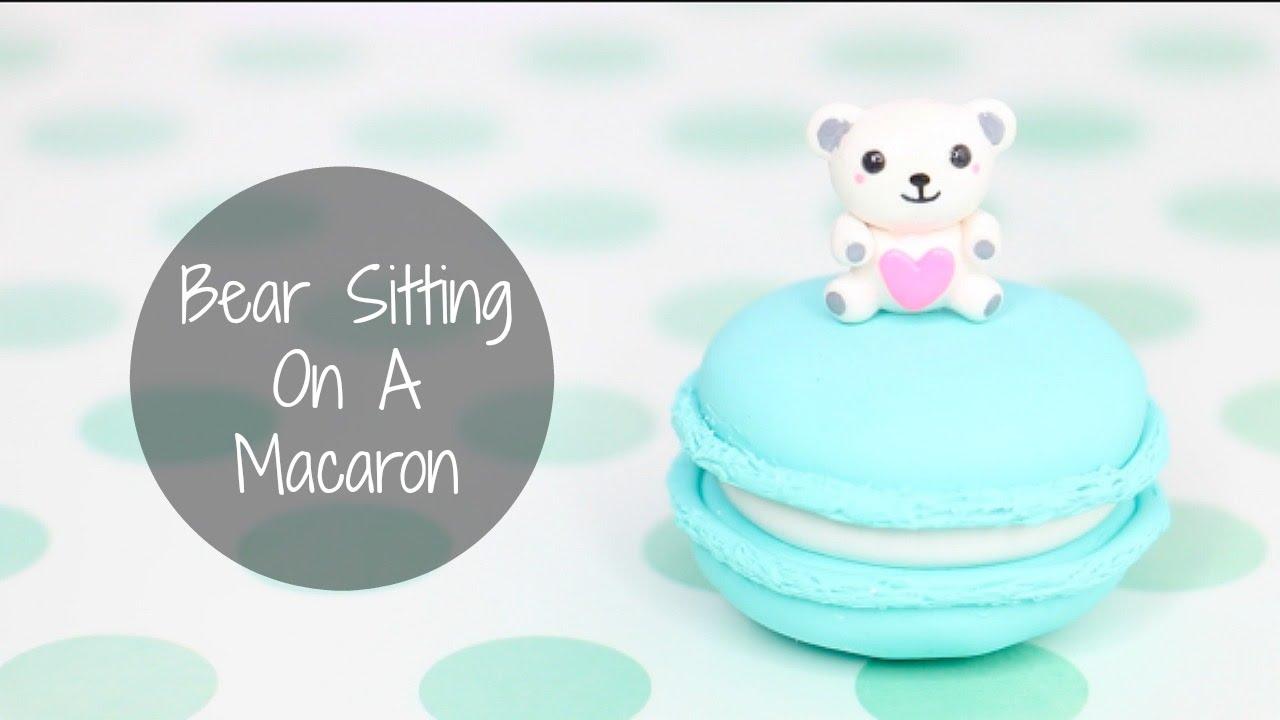 bear sitting on a macaron youtube