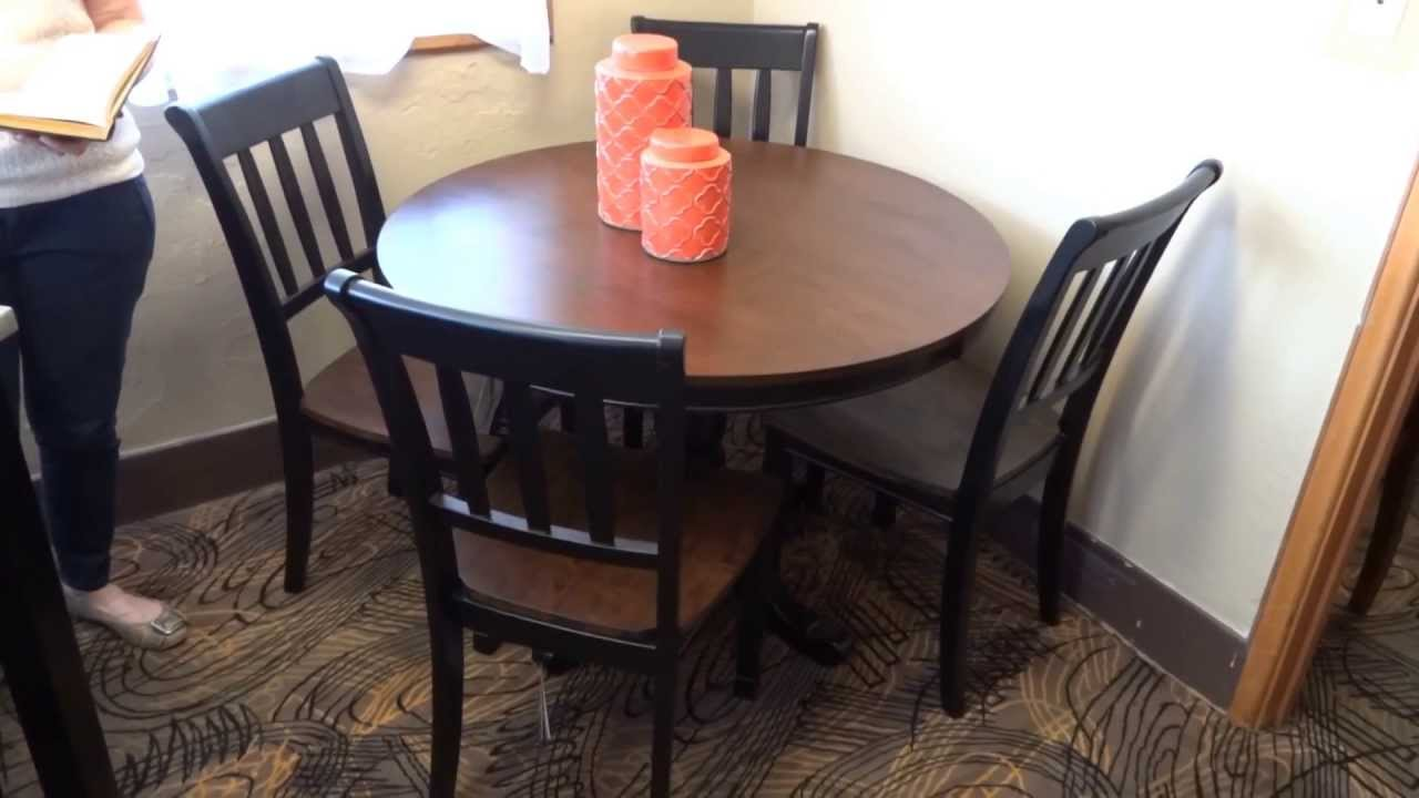 Ashley Furniture Owingsville Round Dining Table Set D Review - Ashley furniture high top table