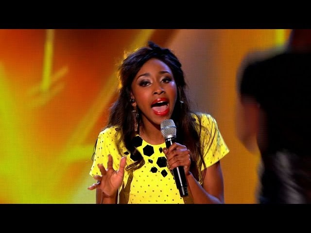 Iesher Haughton performs 'Rather Be' - The Voice UK 2014: The Live Quarter Finals - BBC One