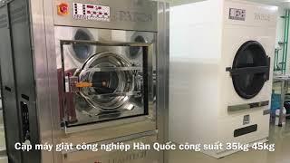 Máy Giặt Công Nghiệp Hàn Quốc - Bền Nhất ? Giá rẻ Nhất ?