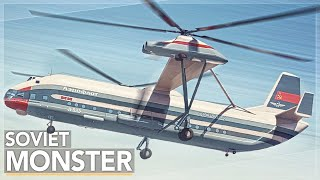 This Insane Helicopter Was The Largest Ever Built:  The Mil V-12 Story