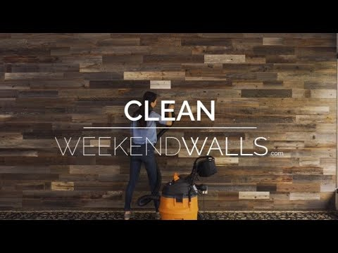 Weekend Walls - Cleaning