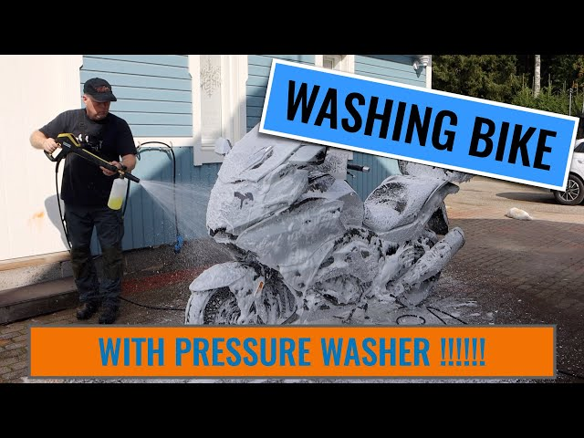 Tips For Cleaning Your Motorcycle With A Pressure Washer