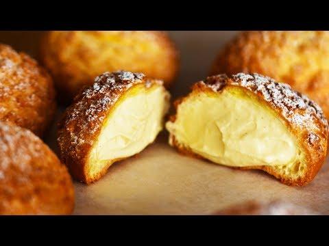 【ASMR・NoBGM】シュークリームの作り方 ~ cream puff【料理レシピはParty Kitchen🎉】