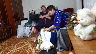 Вечернее развлечение у мамы с Надей