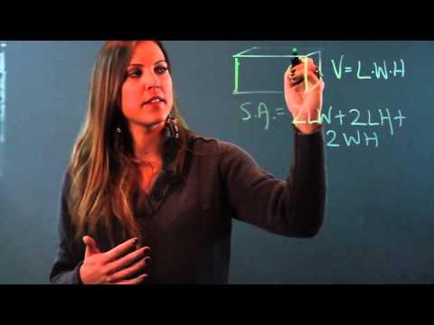 How To Teach Surface Area Vs. Volume