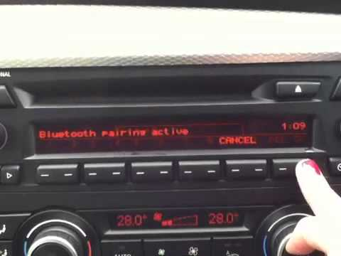 BMW Pair Bluetooth Phone - Onboard Computer (Non iDrive)