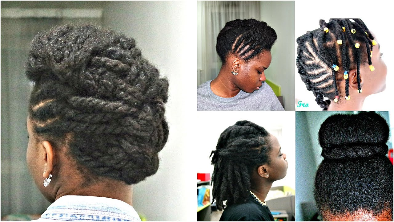 Challenge Coiffures Protectrices et Pousse Cheveux Afro!