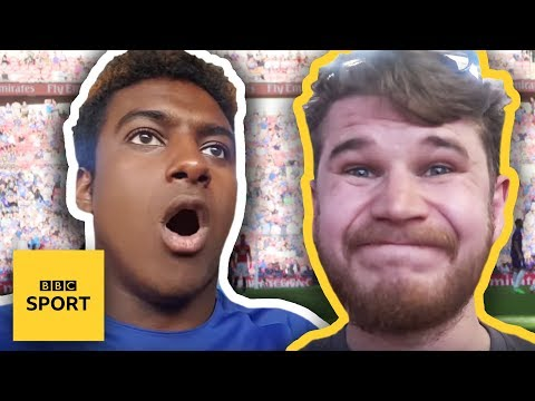 FA Cup stories: Chelsea v Man Utd - A tale of two fans - BBC Sport