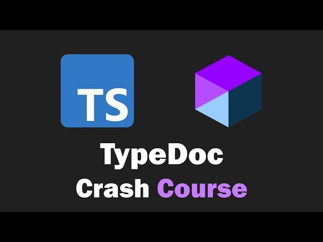 TypeDoc Crash Course - TypeScript Documentation Generator
