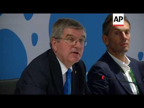 Closing IOC sesson in Rio