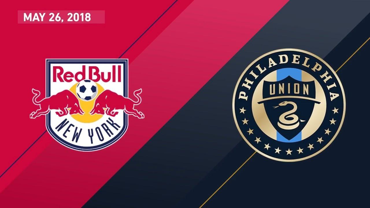 HIGHLIGHTS: New York Red Bulls vs. Philadelphia Union | May 26, 2018 - YouTube