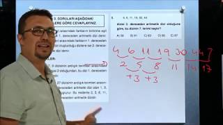 Sayısal Mantık Test 10 Sayı Dizileri 1 Orijin Matematik