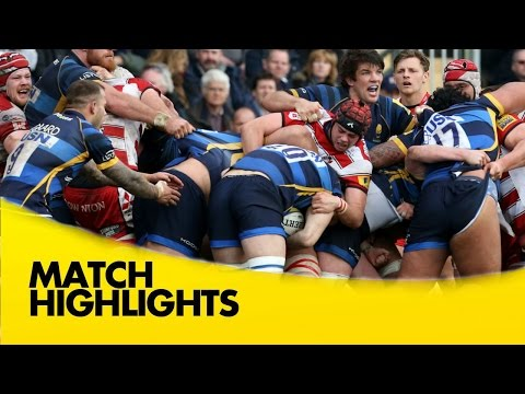 Worcester Warriors V Gloucester  - Aviva Premiership 2015/16