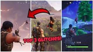 Fortnite Glitches Season 5 (Top 3 working) Become Invisible and invincible & more PS4/Xbox one 2018
