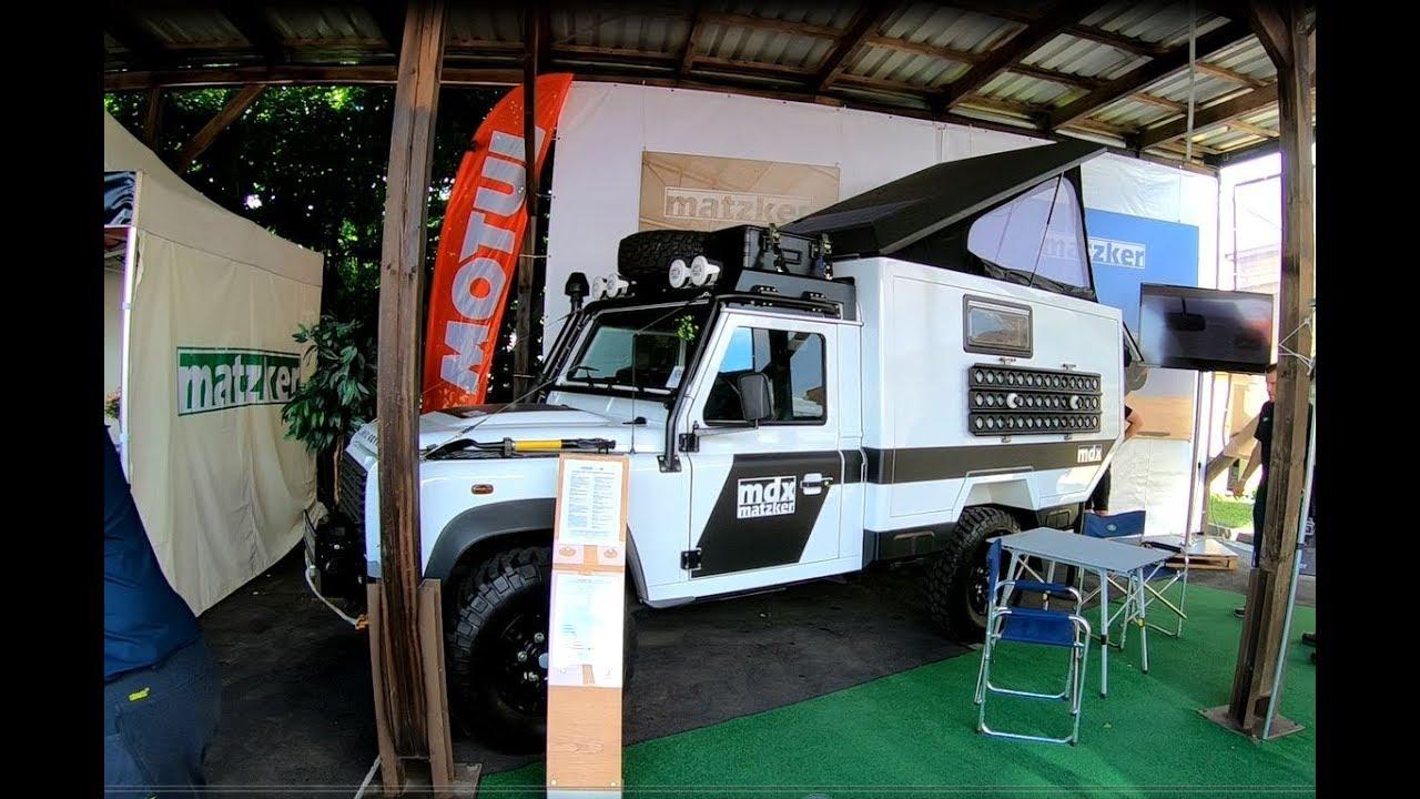 Land Rover Defender 110 Station Wagon Expedition Vehicle Mdx Camper Rv Matzker Walkaround Interior