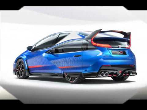 all new 2014 honda civic type r concept series ii youtube. Black Bedroom Furniture Sets. Home Design Ideas