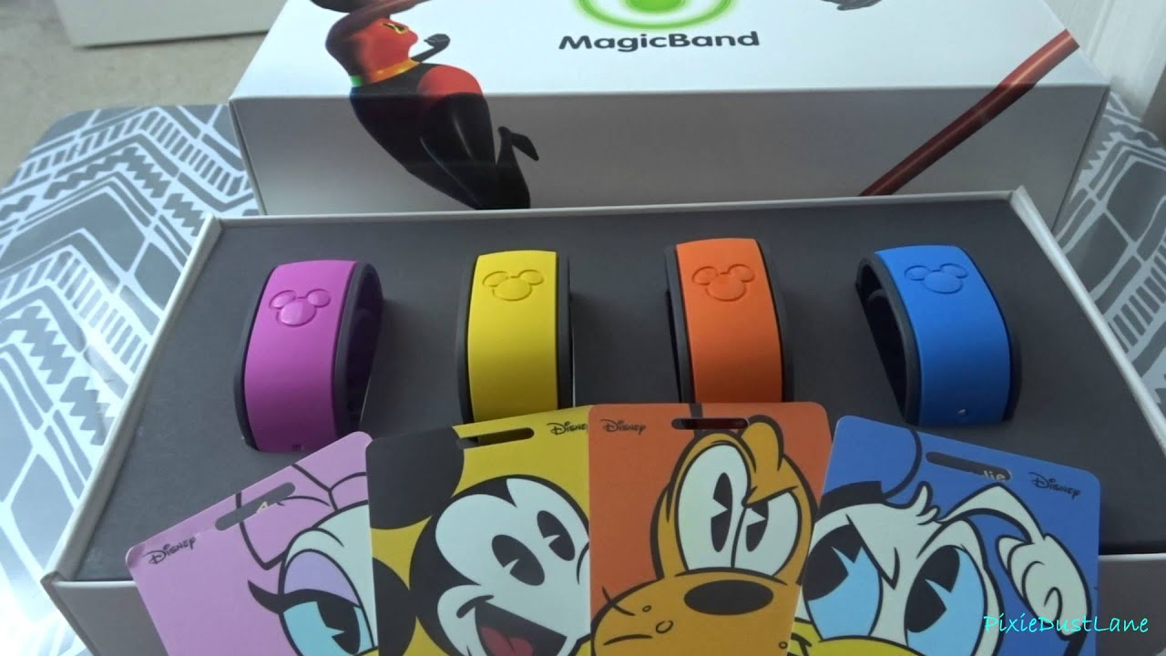 Disney MagicBands and Luggage Tags   2016