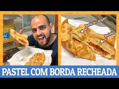 COMO FAZER PASTEL COM BORDA RECHEADA | Ana Maria Brogui #527