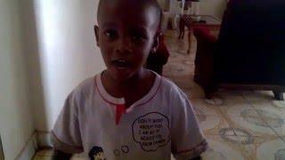 Little Kid singing the Buganda Anthem
