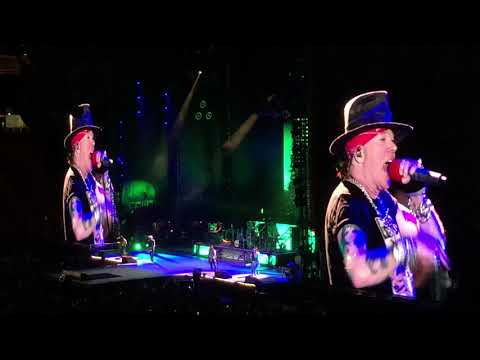 GUNS & ROSES in HAWAII - complete 30min encore Mp3