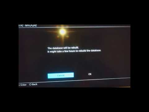 Ps4 Rebuild Database How And Why? 2020  Rebuild Ps4 Database In Safe Mode Fix   100% Working