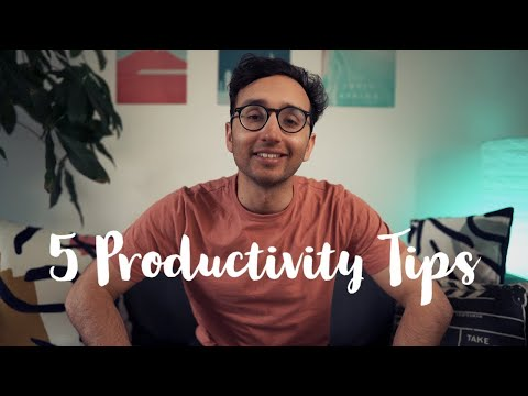 How to be More Productive in Lockdown