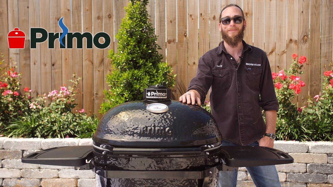 Kingstone Holzkohlegrill Kamado Test : Primo oval xl charcoal kamado grill review bbqguys youtube