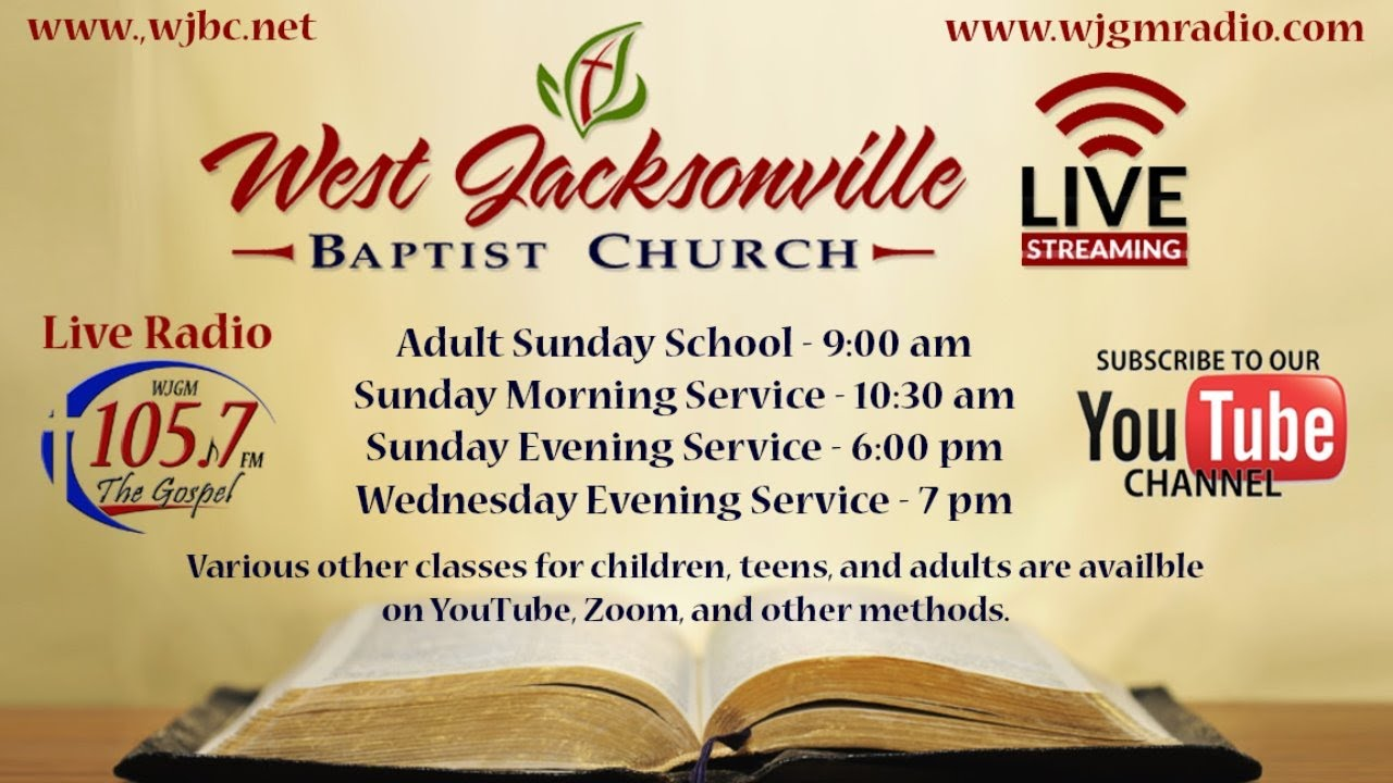 Sunday, 6/28/2020 Morning Service