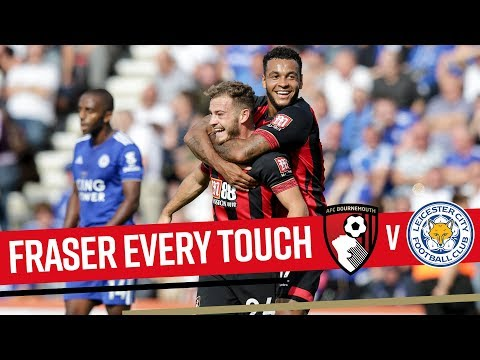 EVERY TOUCH | Fraser runs riot against Leicester 🏴󠁧󠁢󠁳󠁣󠁴󠁿