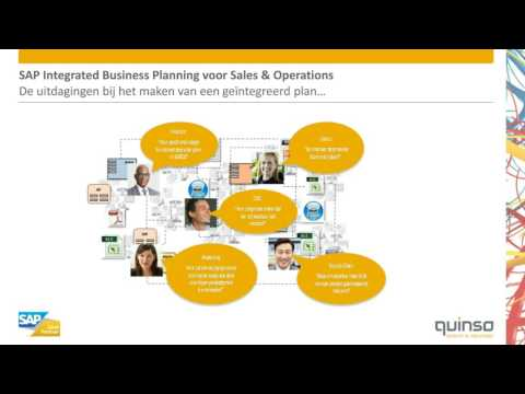 Webinar - SAP Integrated Business Planning voor Sales & Operations
