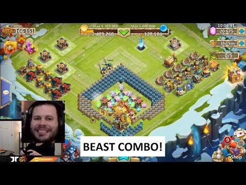 JT's F2P Ownage Combo WereWolf + Self Destruct Castle Clash