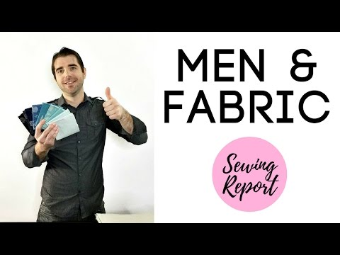 My Husband Picks Out Fabric | MAN HAUL | LIVE SHOW | Sewing Report