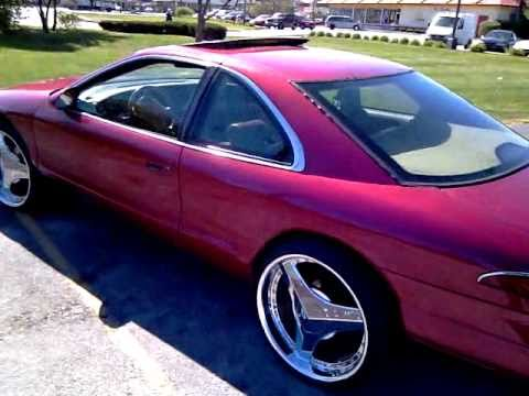 1995 Lincoln Mark Viii Lsc On 22 Quot Helo Choppers Clean