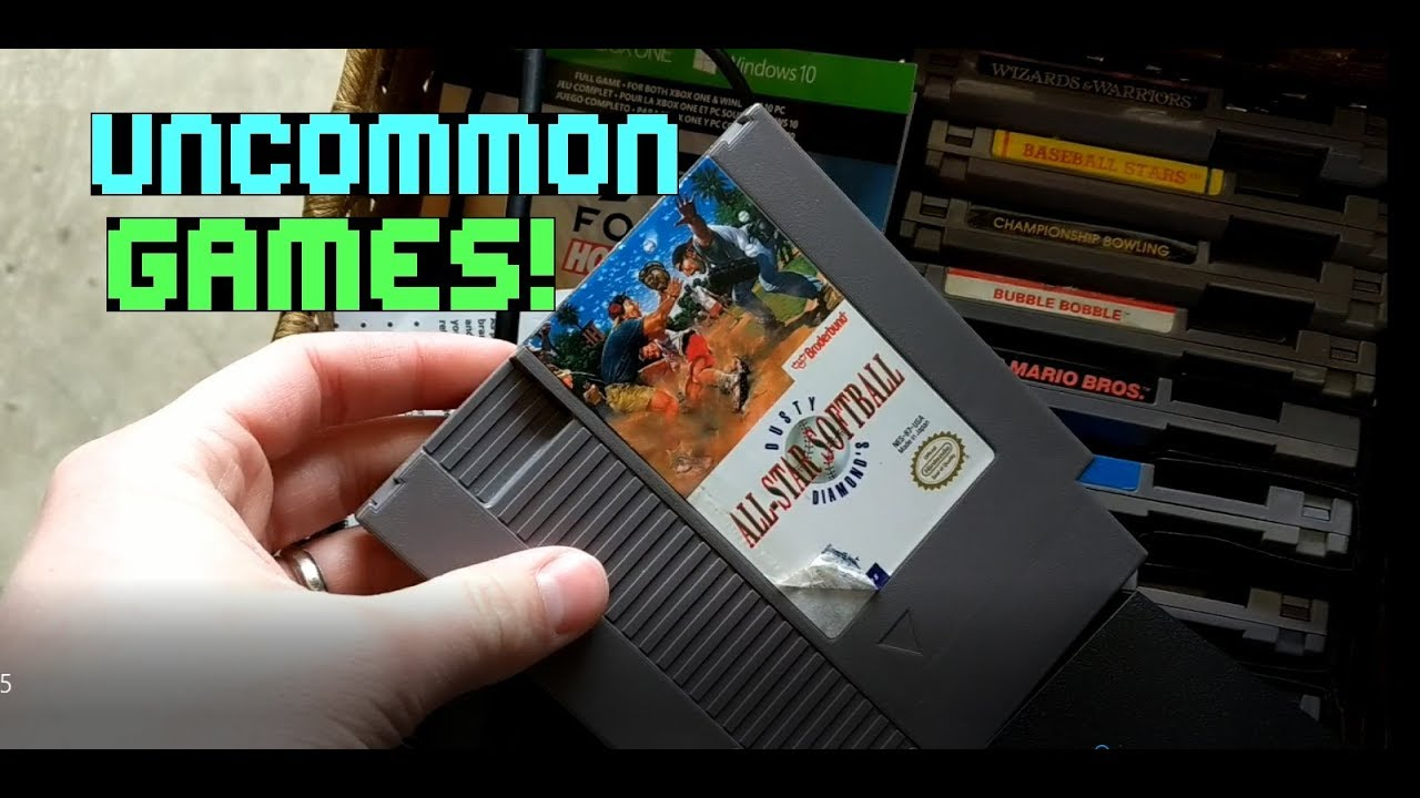 Awesome Live Garage Sale pickups  Uncommon NES Games & So much more! S2E5