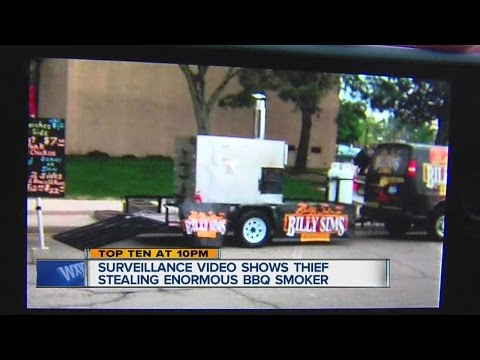 Smoker stolen from Billy Sims BBQ