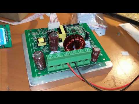 makeskyblue 20A solar mppt charge controller test / heatsink build