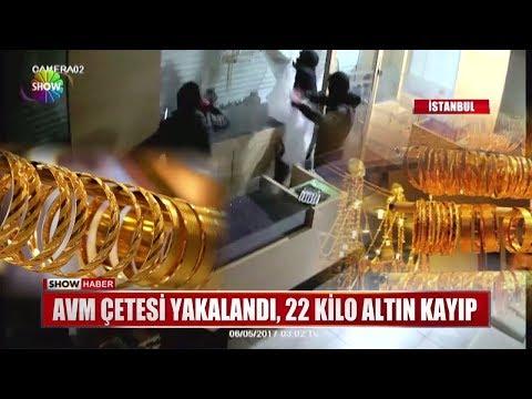 AVM Çetesi yakalandı, 22 kilo altın kayıp
