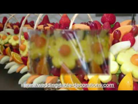 Wedding Table Decorations - Edible Bouquets Edible Arrangements