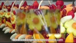 Wedding Table Decorations - Edible Bouquets Edible Arrangements