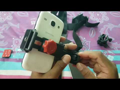 Convert any smartphone into GoPro Action camera velocity clip holder & chest/Bike/Bicycle/Helmet/Car