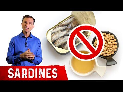 Avoid Sardines with Soybean Oil