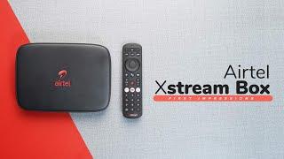 Airtel Xstream Box First Impressions!